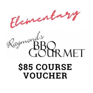 BBQ Gourmet Gift Voucher – Elementary Course